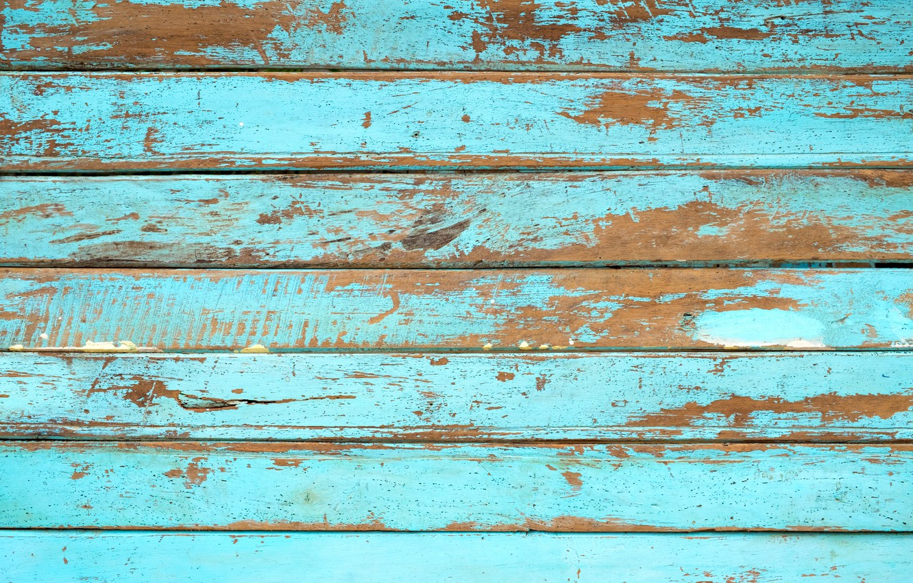 Photo wallpaper background, tree, Board, vintage, wood, texture, blue, background