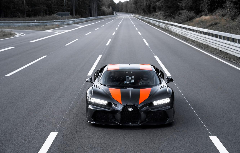 Photo wallpaper Bugatti, hypercar, Chiron, Super Sport 300+