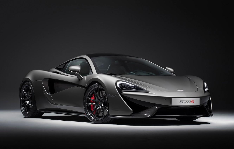 Photo wallpaper sports car, Coupe, Sports car, McLaren 570S