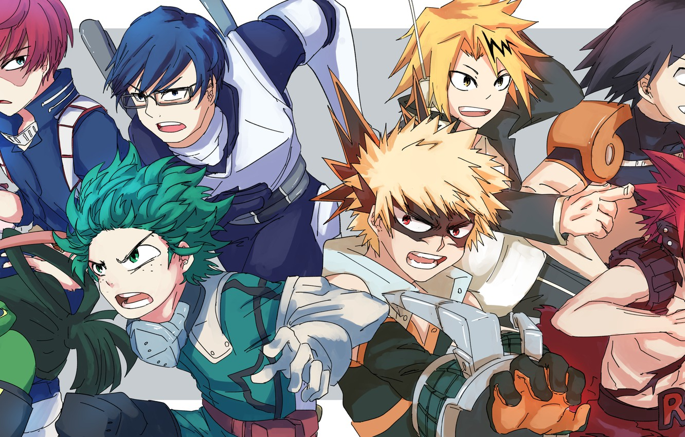 Wallpaper My Hero Academy My Hero Academia Heroes Boku No Hero