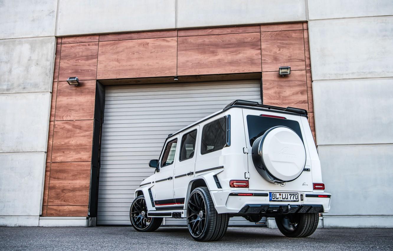 Photo wallpaper Mercedes, Mercedes, Gaelic, Lumma Design, G-classe, CLR G770