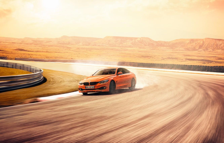 Photo wallpaper speed, BMW, Coupe, Alpina, Bi-Turbo, 4-Series, 2019, Edition 99, B4 S