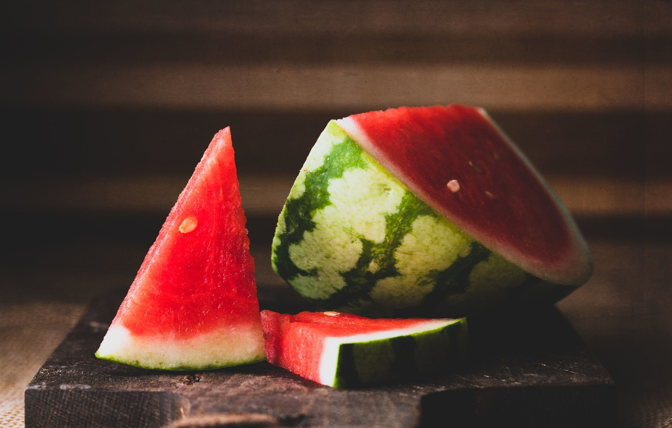 Photo wallpaper background, food, watermelon