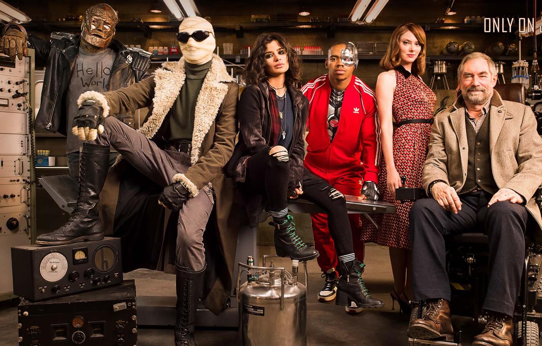 Photo wallpaper look, actors, the series, laboratory, Movies, Doom Patrol, Doom patrol