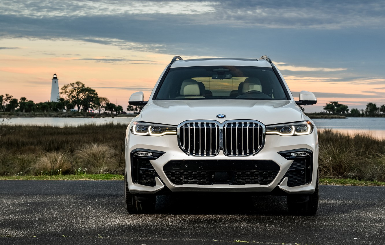 Photo wallpaper the evening, BMW, M Sport, 2019, BMW X7, XDrive50i