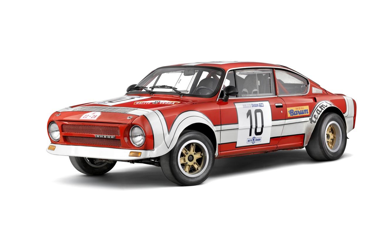 Photo wallpaper rally, racing car, 1974, Skoda, Skoda, Skoda 200RS