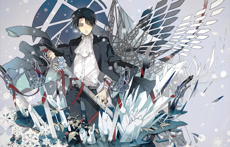 Anime Wallpaper Attack On Titan Levi