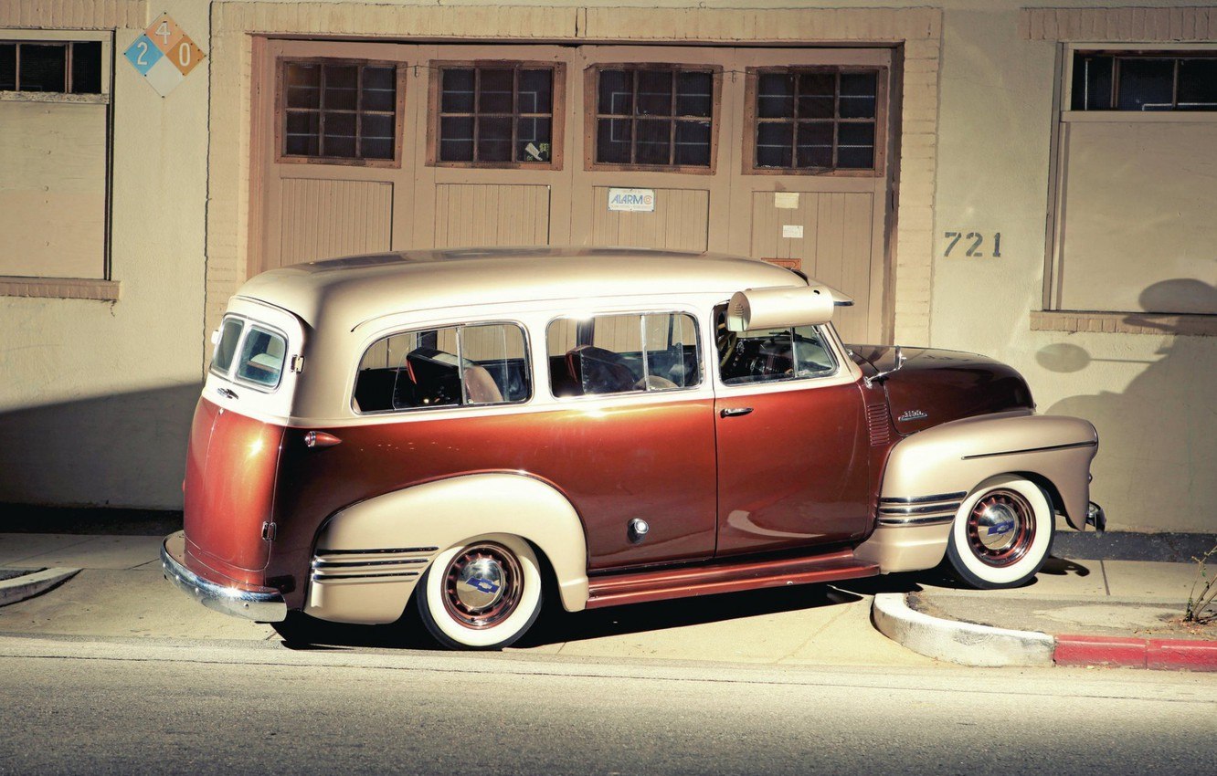 Photo wallpaper Chevrolet, Classic, Old, Vintage car