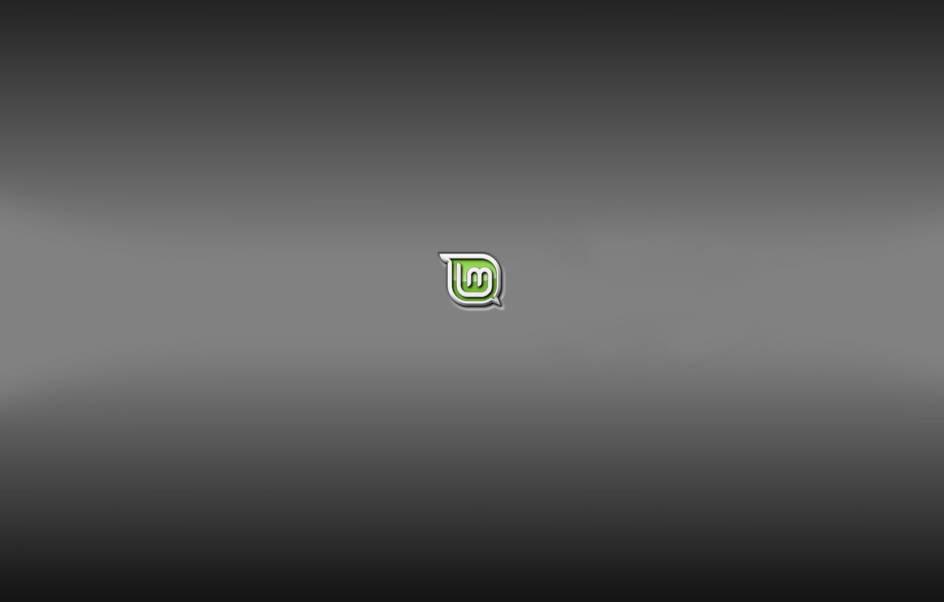 Wallpaper Grey Background Grey Background Mint Linux Mint