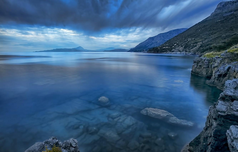 Photo wallpaper sea, Italy, Basilicata