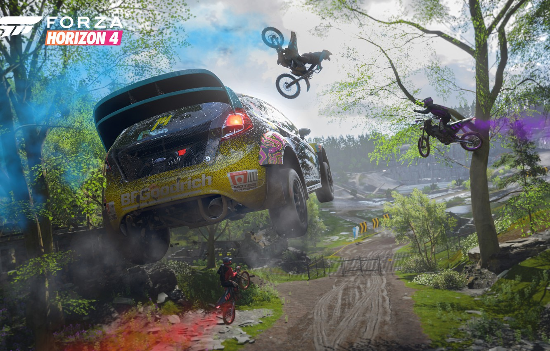 Wallpaper Ford Microsoft Game 2018 Rally Fiesta E3
