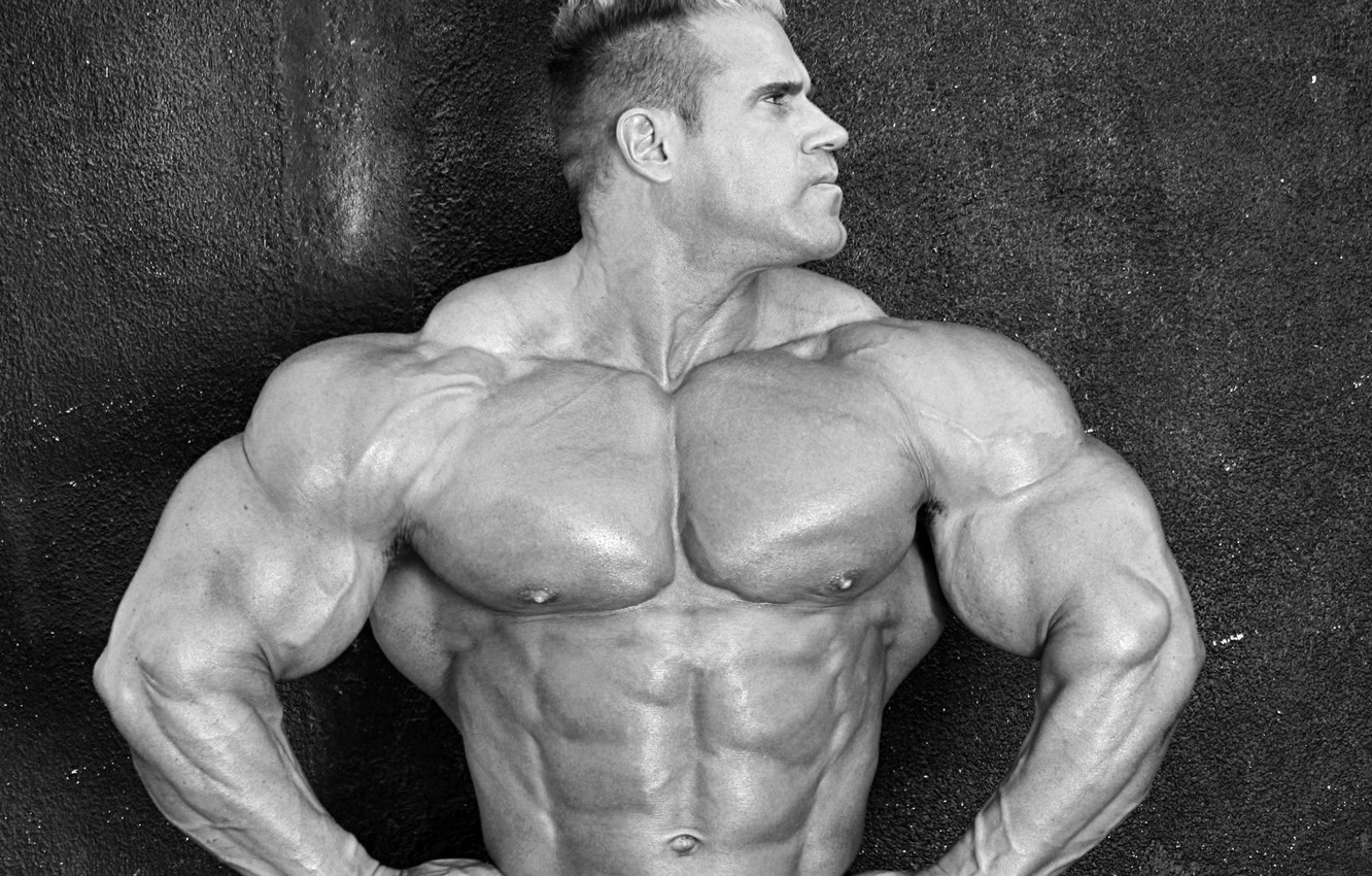 Wallpaper Pose Muscle Muscle Press Black And White Athlete