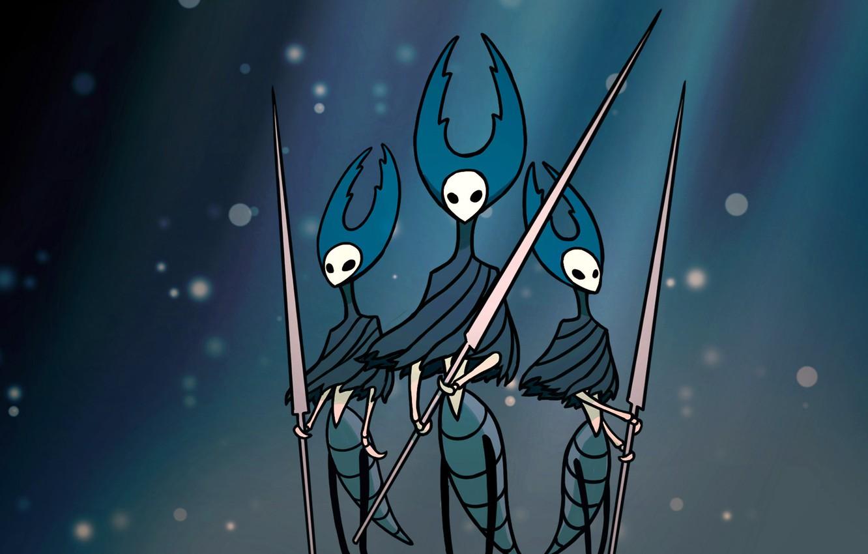 Photo wallpaper Hollow Knight, Team Cherry, Mantis Lords