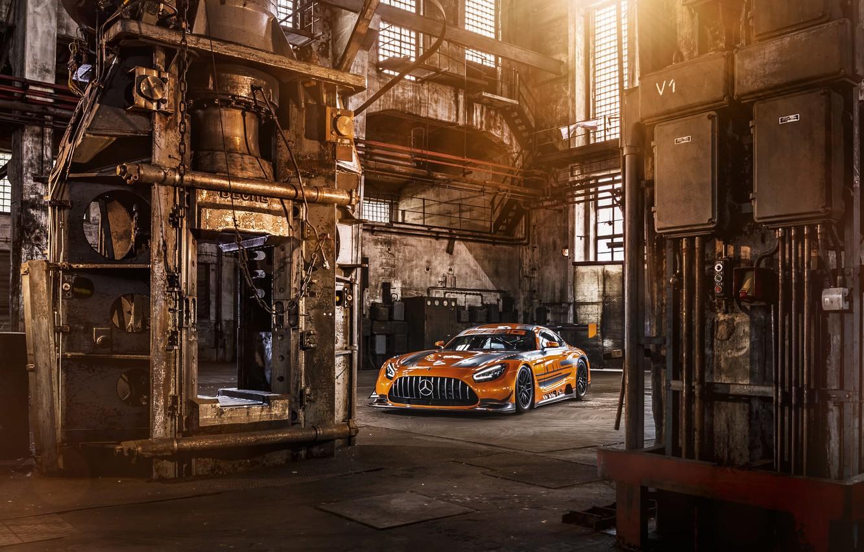 Photo wallpaper Mercedes-Benz, AMG, GT3, C190