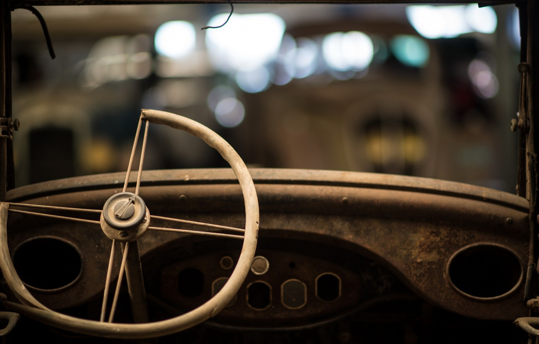 Photo wallpaper machine, the wheel, scrap