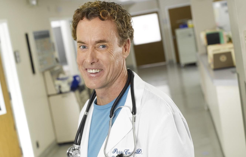 Photo wallpaper look, the series, hospital, Scrubs, the doctor, Clinic, Percival Cox, John C. McGinley, John C. …