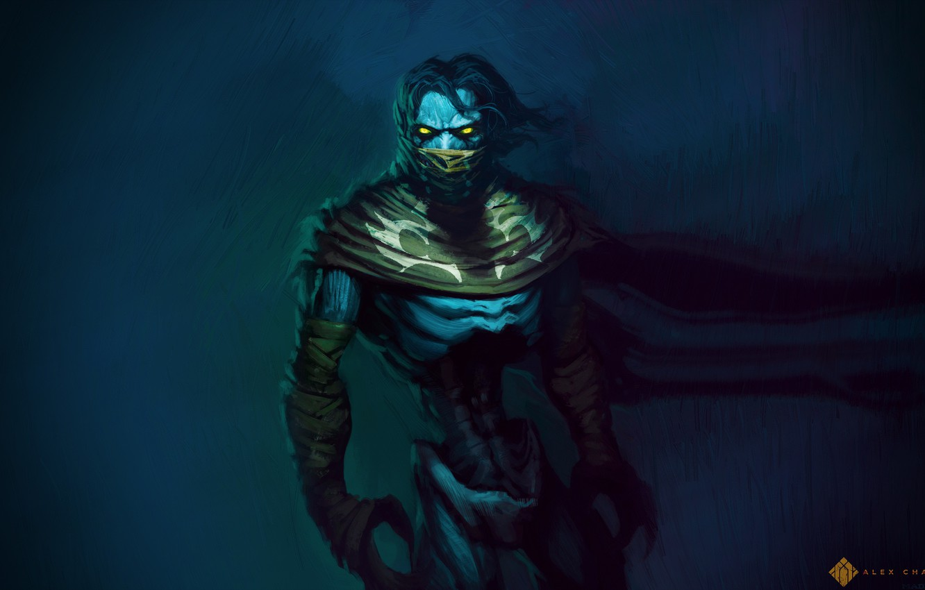 Photo wallpaper Figure, The game, Art, Art, Ghost, Character, Raziel, Raziel, Legacy of Kain, Video game, The …