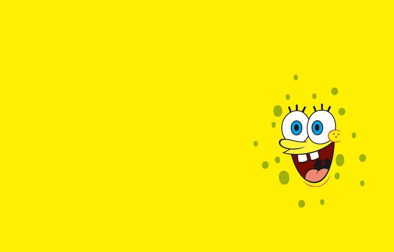 Photo wallpaper smile, mood, vector, art, Spongebob, children's, Spongebob
