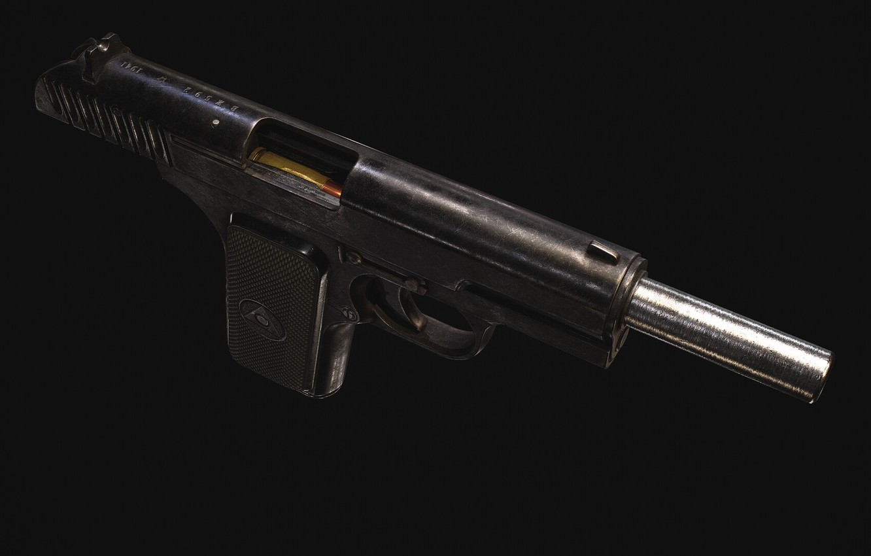 Photo wallpaper USSR, Self-loading pistol, TT-30