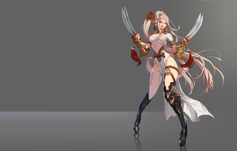 Photo wallpaper the game, anime, fantasy, art, assassin, character, B B