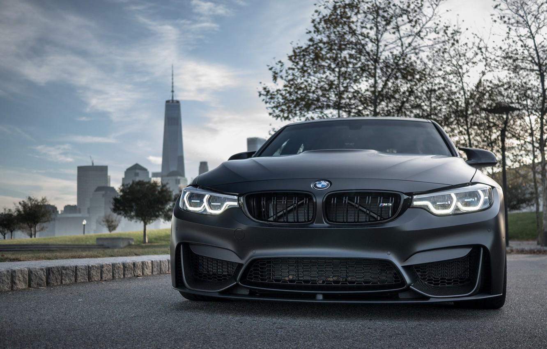 Photo wallpaper BMW, Light, Predator, Black, F80, Adaptive LED, Evel Sight