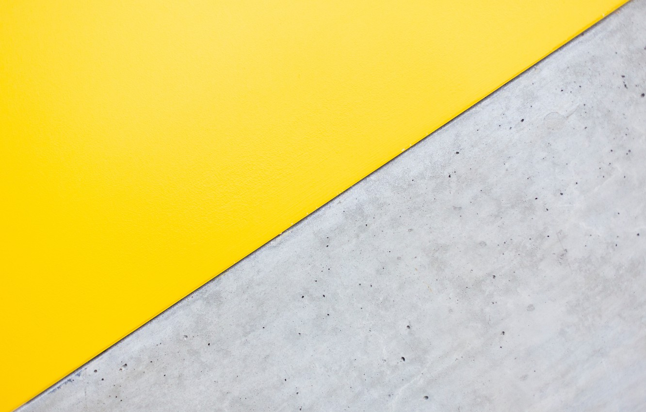 Photo wallpaper surface, yellow, grey, background