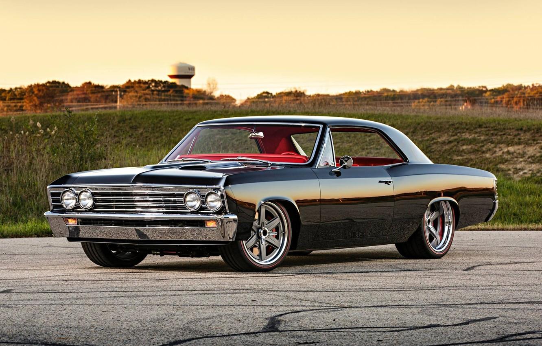 Photo wallpaper Chevrolet, Muscle, Car, Chevelle