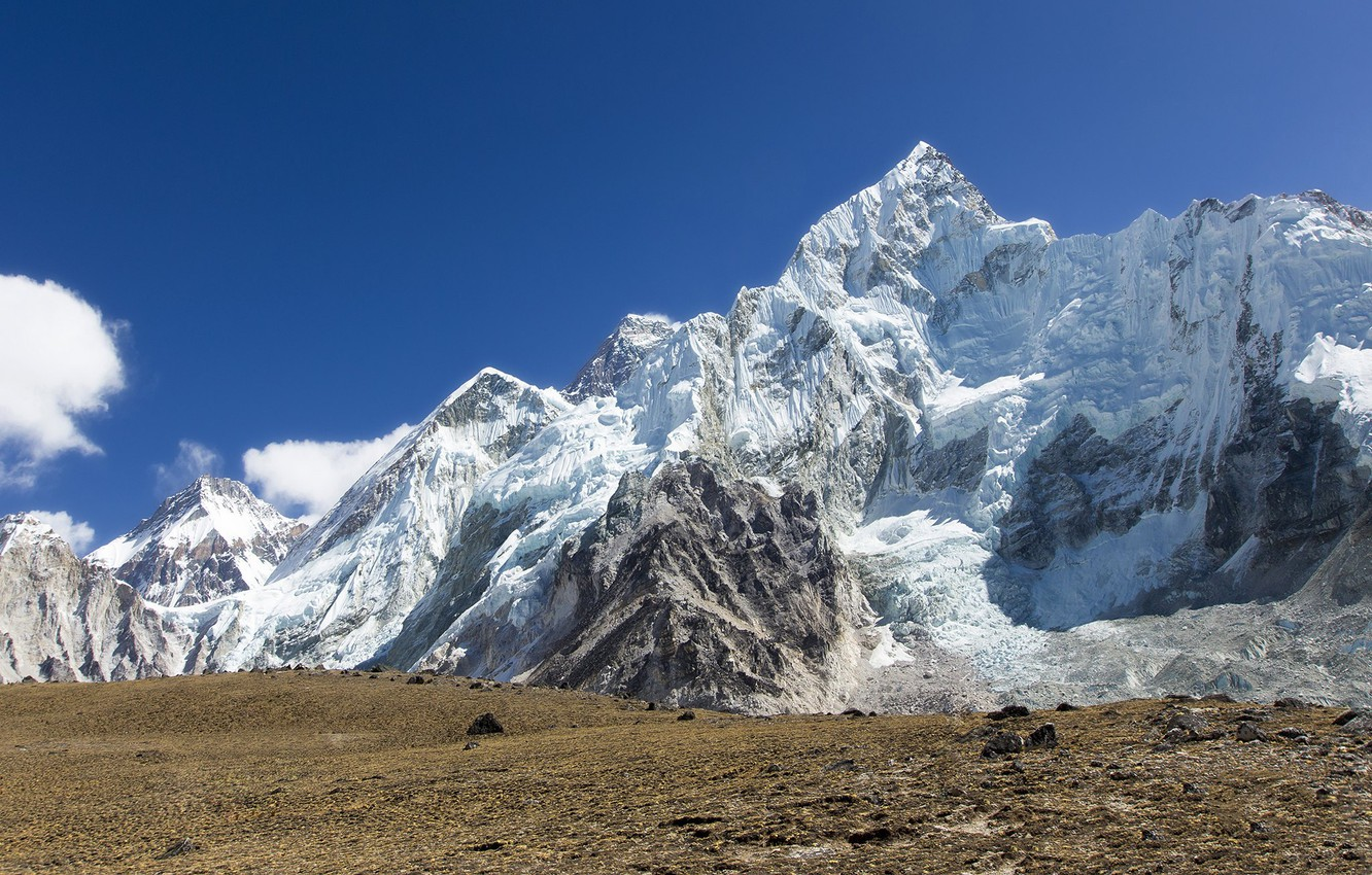 Wallpaper Mountains Tops Everest Nepal Nuptse Images For