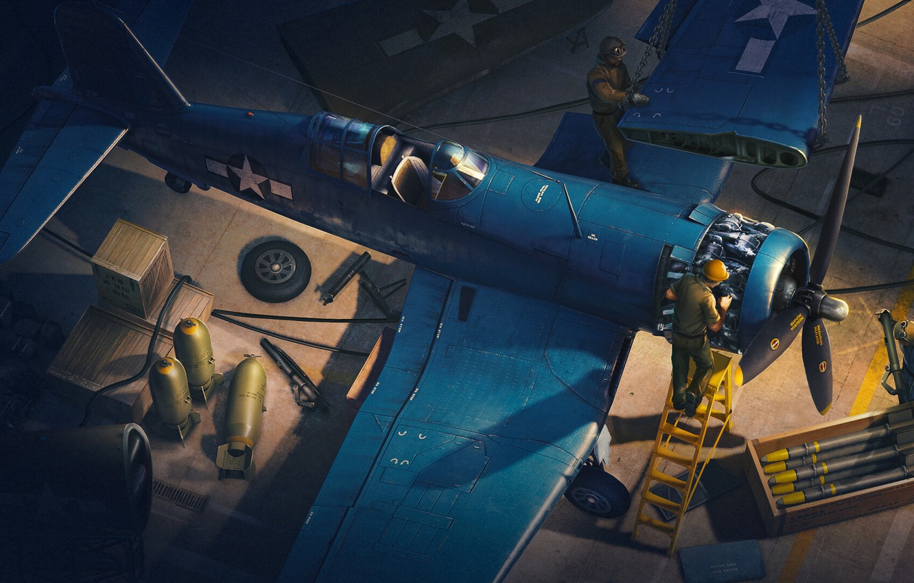 Wallpaper The game, The plane, Fighter