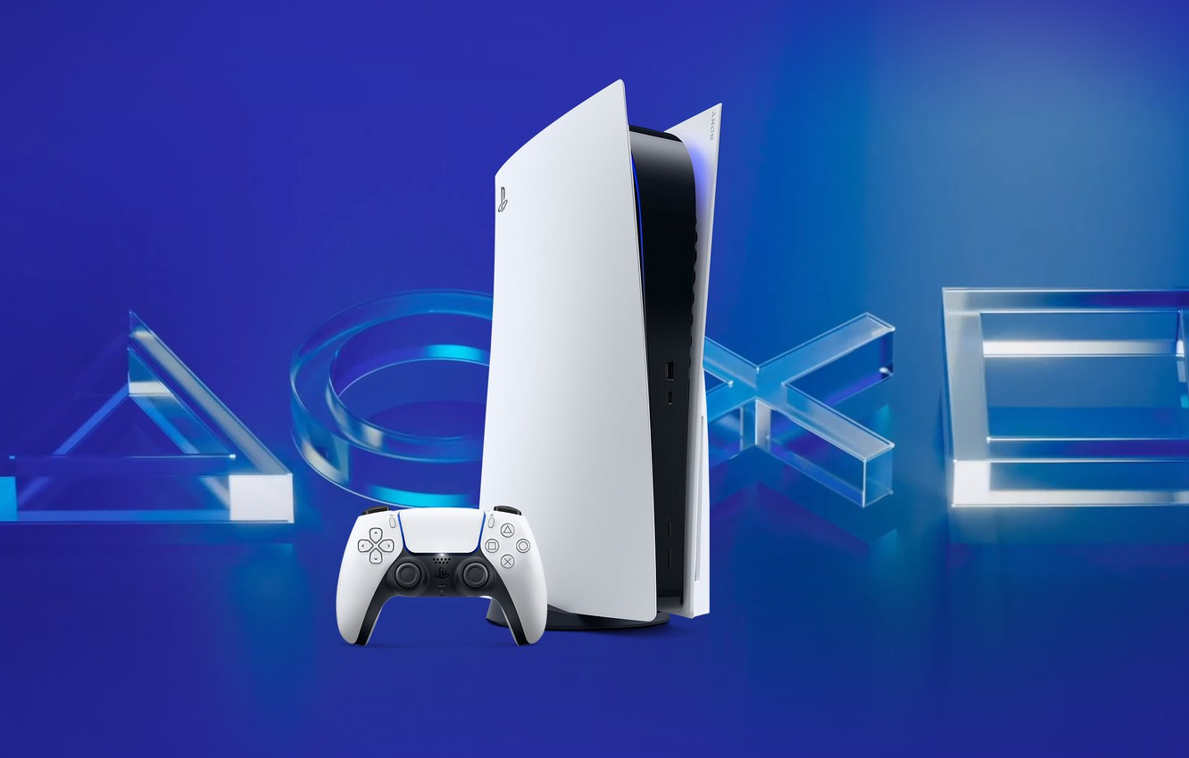 Photo wallpaper Sony, Playstation, PS4, PS5
