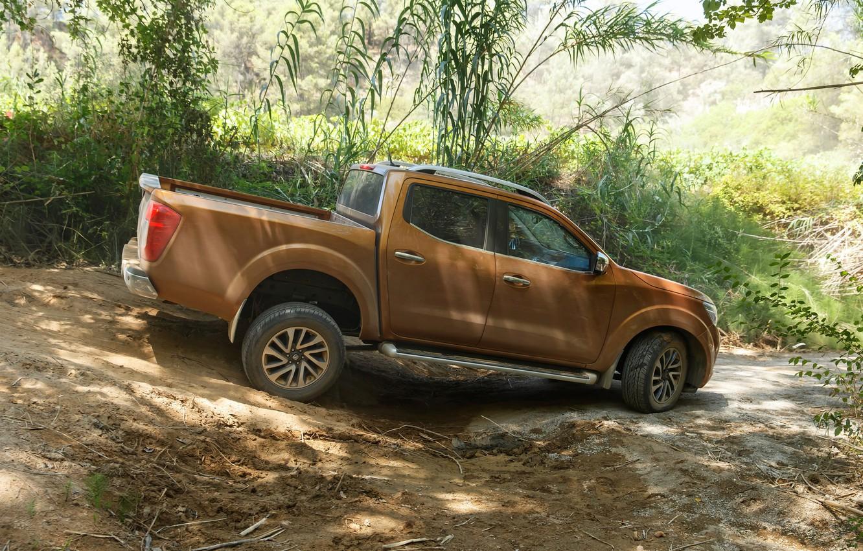 Photo wallpaper earth, vegetation, Nissan, pickup, Navara