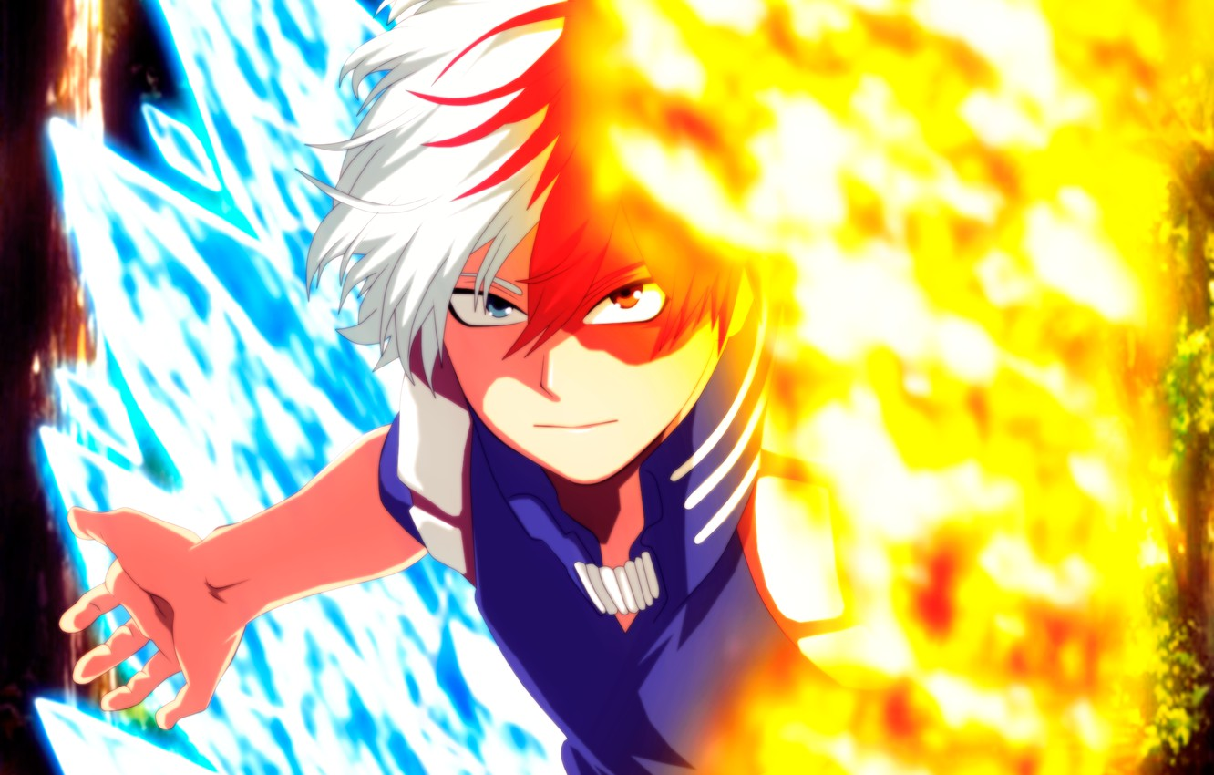 Wallpaper Todoroki Shoto My Hero Academia Boku No Hero Academy