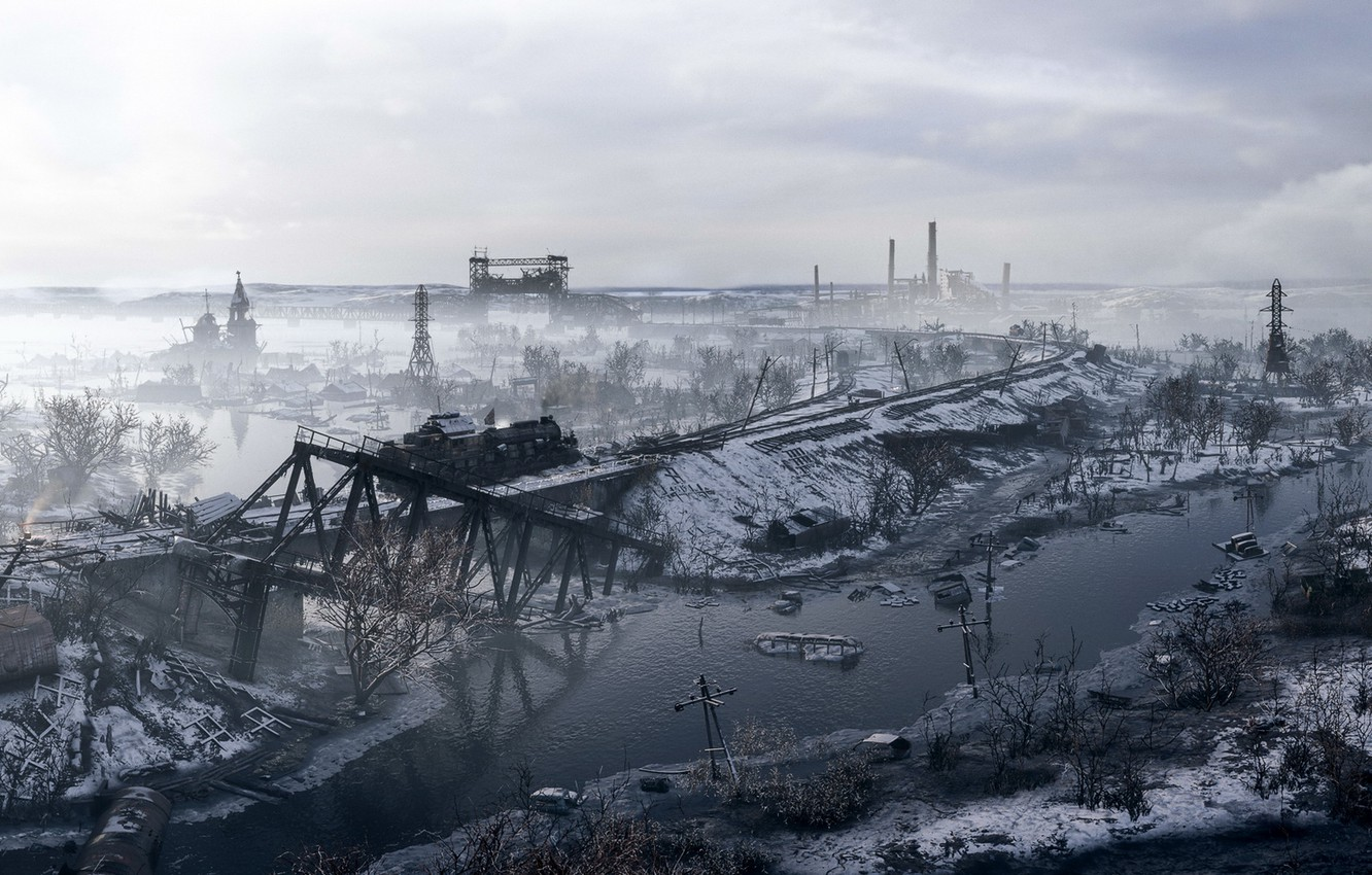 Wallpaper Background The Game Metro Exodus Images For