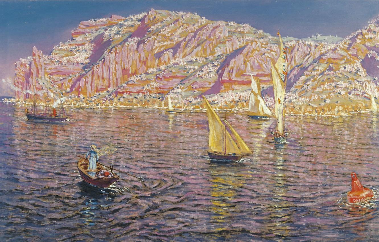Photo wallpaper Malaga, Malaga, Spanish painter, Spanish painter, oil on canvas, The Carmen Thyssen Museum, The Carmen …