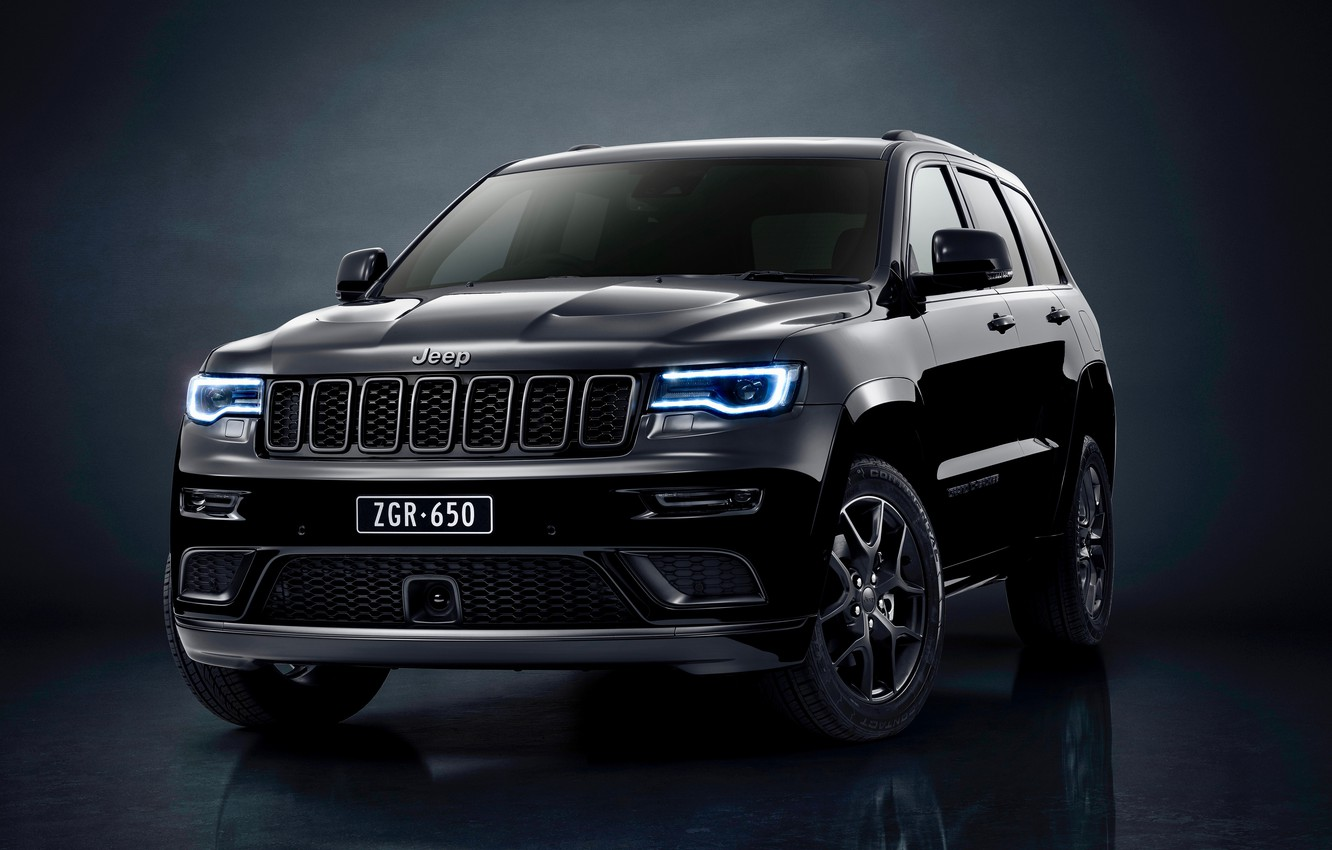 Photo wallpaper Jeep, Grand Cherokee, Limited, 2019, Grand Cherokee S