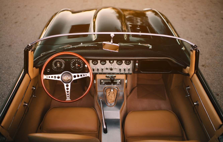 Photo wallpaper Jaguar, E-Type, Vehicle