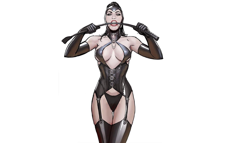 Photo wallpaper BDSM, girl, sexy, corset, fetish, latex, bondage, whip, shiniez, dominatrix, Shiniez