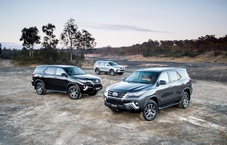 Photo wallpaper photo, Toyota, Cars, SUV, Metallic, Fortuner
