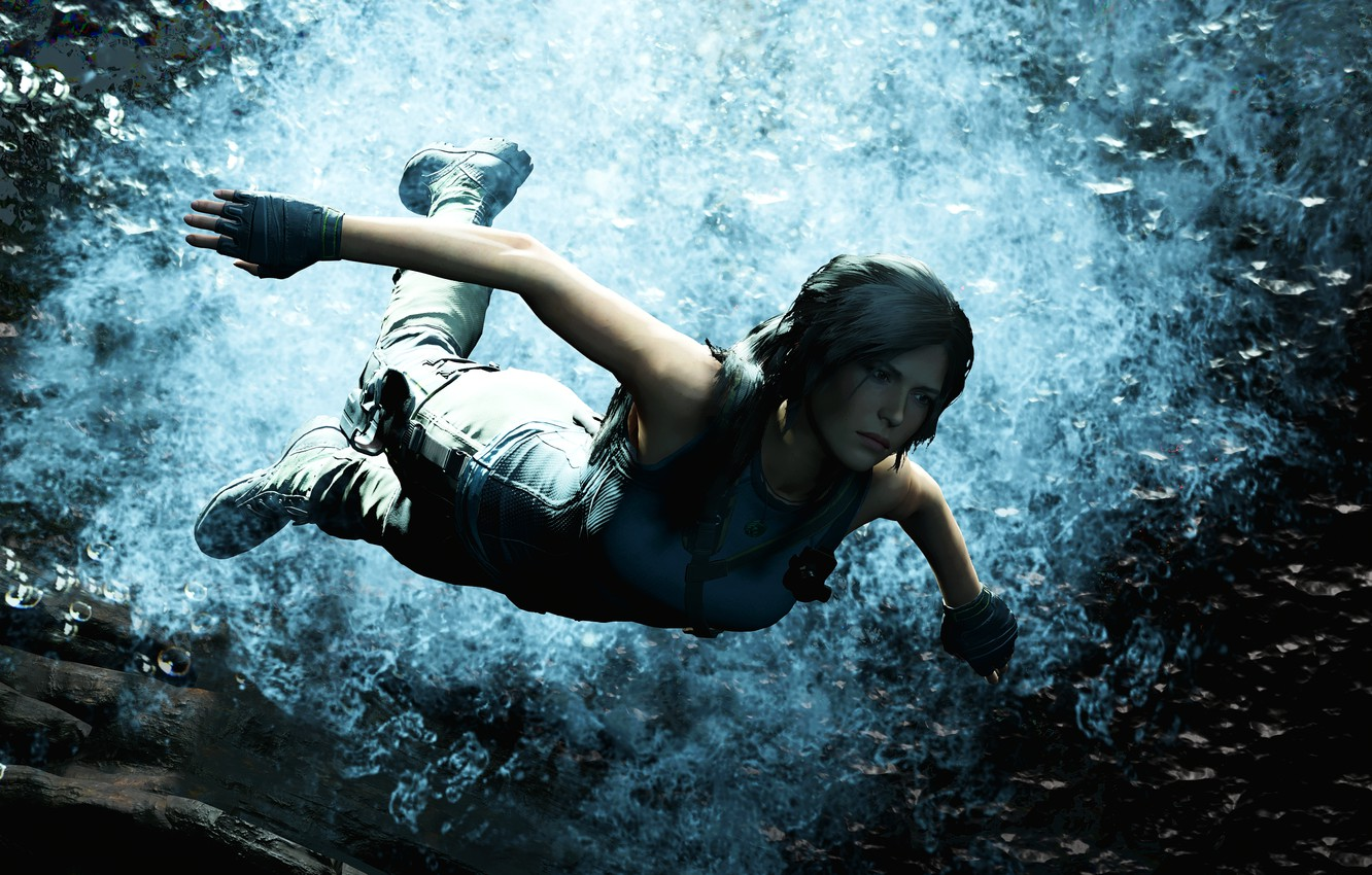 Photo wallpaper background, the game, Shadow of the Tomb Raider