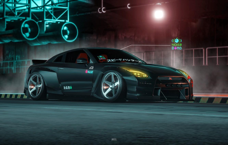 Wallpaper Auto Machine R35 Nissan Gtr Game Art Gt R R35