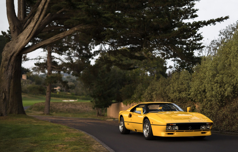 Photo wallpaper Ferrari, GTO, 288, Prototype
