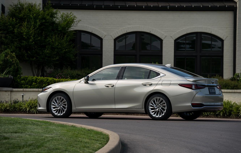 Photo wallpaper Lexus, Toyota, sedan, side, hybrid, 2018, Avalon, four-door, ES 300h