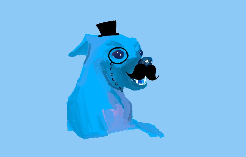 Photo wallpaper dog, monstruosamente, time, powerful, daora