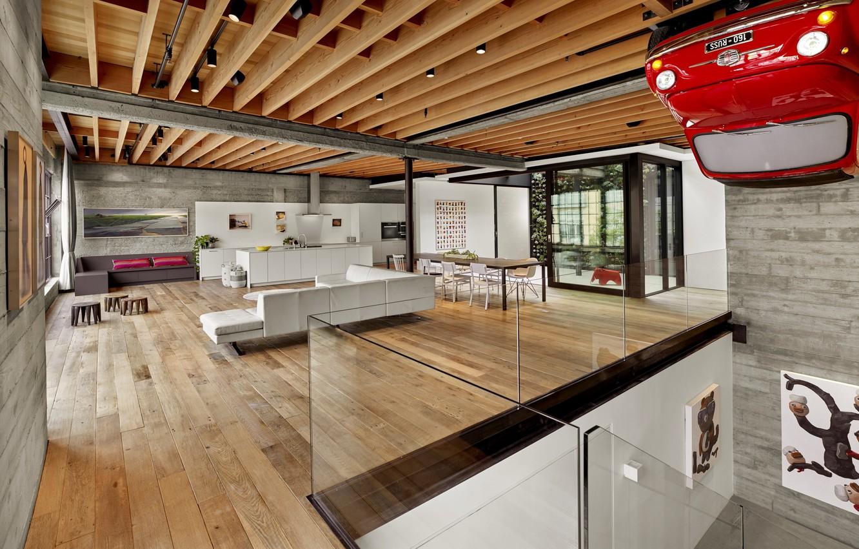Photo wallpaper interior, kitchen, living room, dining room, Soma Residence