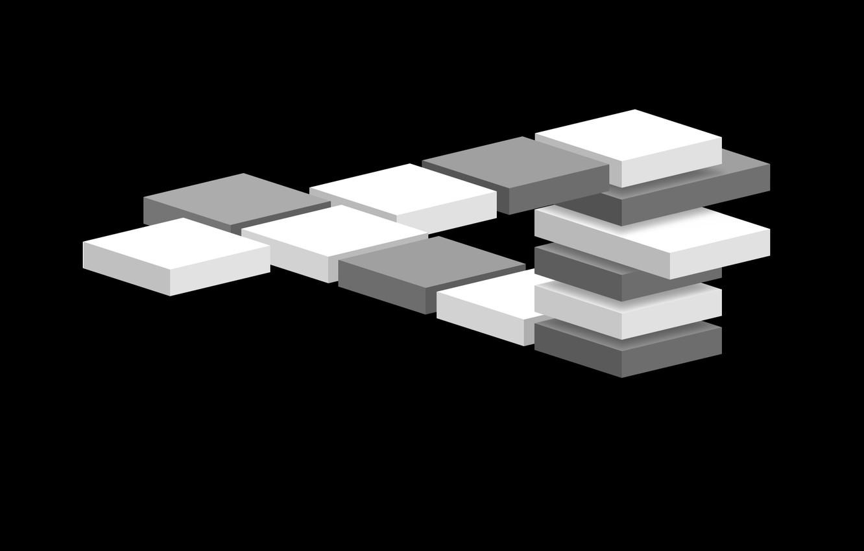 Photo wallpaper graphics, minimalism, vector, monochrome, on black, vector graphics, laconic, 2D graphics, computer of gravik, monochrome …