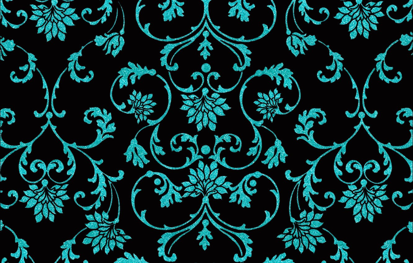 Wallpaper Background Pattern Black Texture Ornament Design