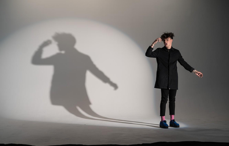 Photo wallpaper guy, singer, Yungblud, British singer