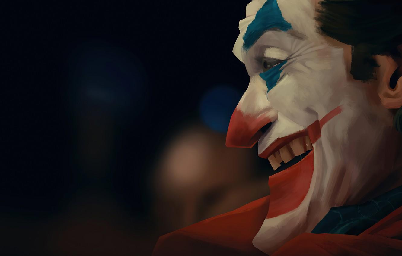 Photo wallpaper Joker, art, Joker, Joaquin Phoenix