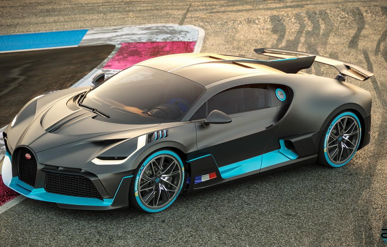 Photo wallpaper Bugatti, supercar, 2018, hypercar, Divo