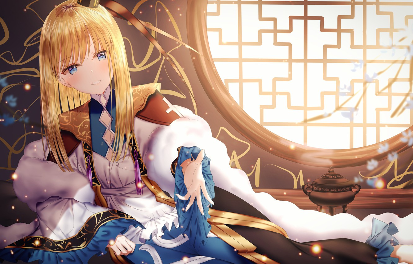 Photo wallpaper girl, smile, Fate / Grand Order, The destiny of a great campaign